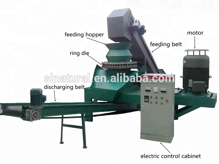 diesel engine biomass sugarcane bagasse peanut waste charcoal briquette machine for philippines
