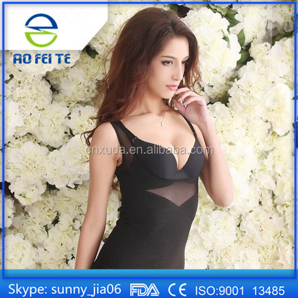 680f3e0a54c Ladies Slimming Body Suit Shaper Womens Bamboo Shaper Suit Firm Tummy  Control Underwear