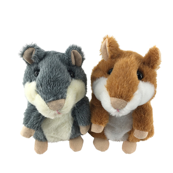 China Supplier Talking Stuffed Plush Toys Repeat Talking Hamster