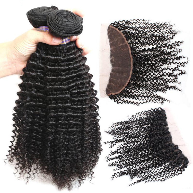 2019 Most Popular Hot Selling Cuticle Aligned Kinky Curly Raw Virgin Unprocessed Brazilian Human Hair Bundles