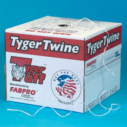 1-Ply, 210 Pound, White Polypropylene Tying Twine