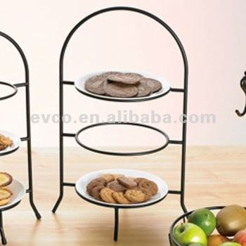 Iron Works Wire 3 Tier Dinner Plate Rack