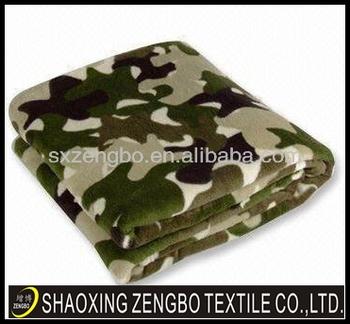 Couverture Camouflage tissu polaire couverture,camouflage - buy imprimée couverture de