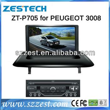 zestech car dvd factory car dvd gps for peugeot 3008 car dvd player gps navigation with 3g buy. Black Bedroom Furniture Sets. Home Design Ideas