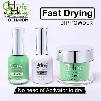 wholesale 2000 colors of acrylic nail dipping powder 3 in
