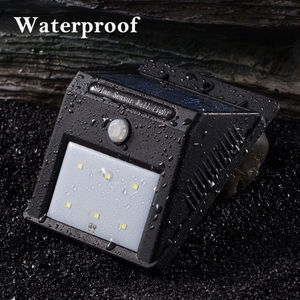 Hot Selling 2016 Amazon Waterproof IP65 6 LED Garden Wall Stairs Step Lamp Solar Light Parts Price List