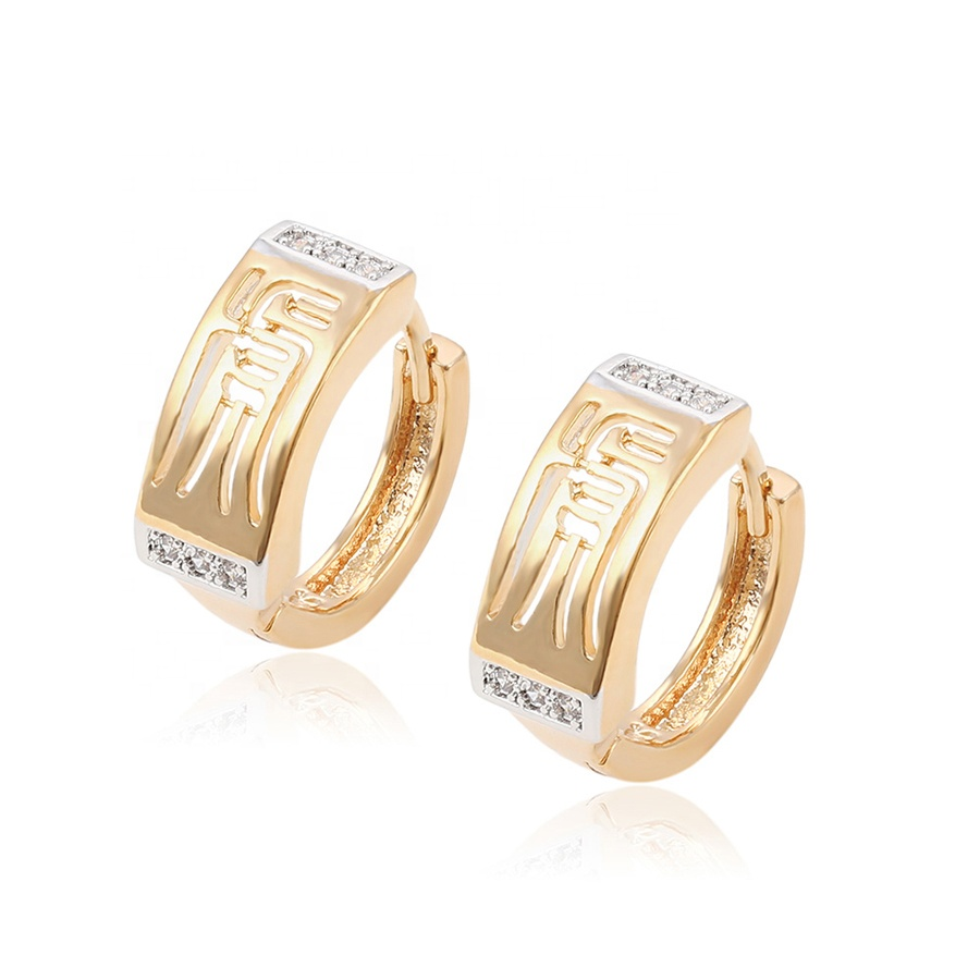 New Design pave Chinese ancient hanzi Fashion Jewelry Earrings фото