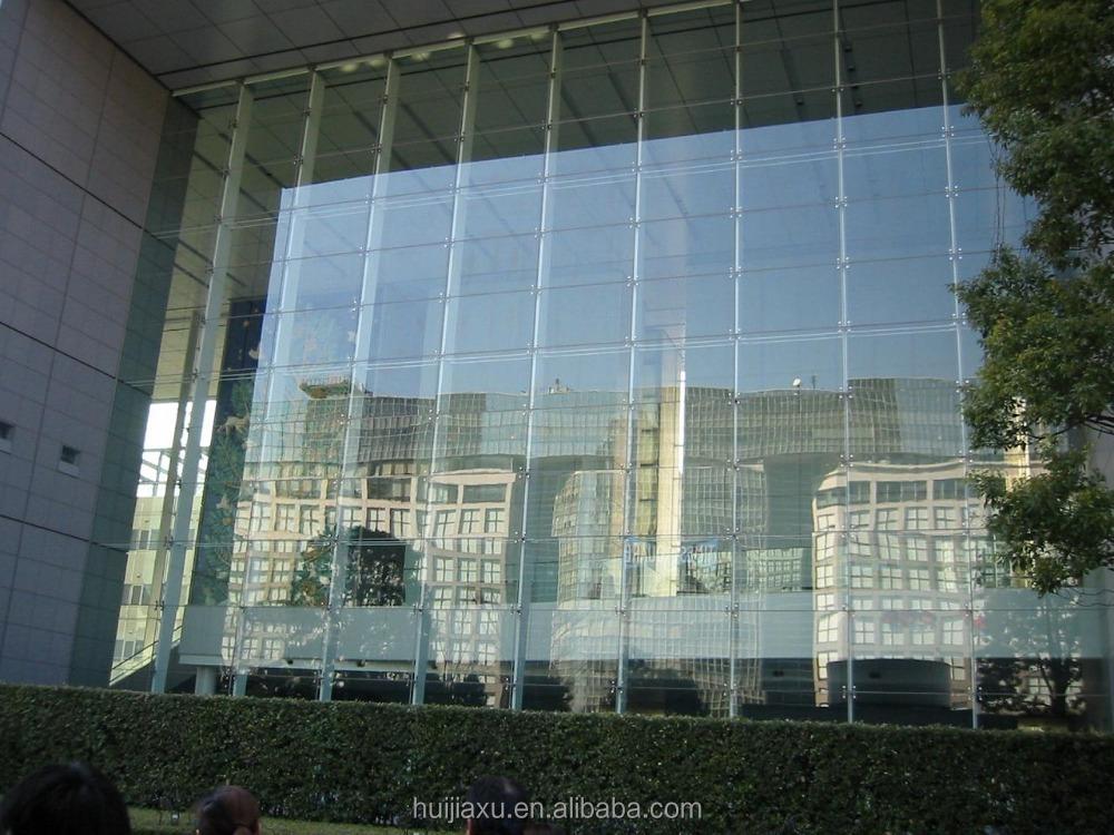 Frameless curtain wall glazing curtain menzilperde net for Glass window wall