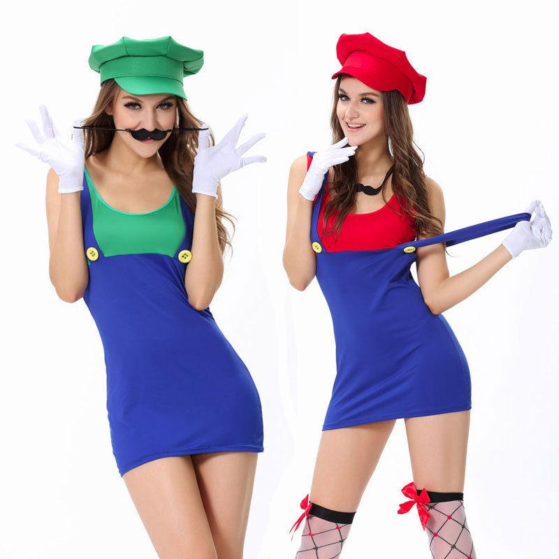 Sexy mario bros costume