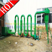 CE newest type hot air flow wood/sawdust dryer machinery