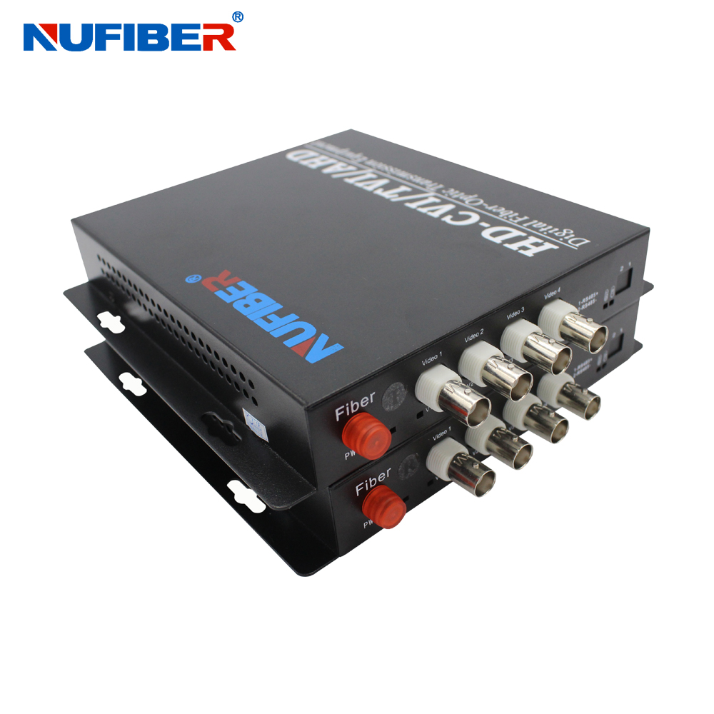 Fast Deliver Fiber Optic Video Audio Data Alarm Ethernet Digital Transmitter & Receiver Single Mode Single Fiber Fc 20km For Cctv 4ch Back To Search Resultscellphones & Telecommunications