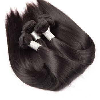 Indian sew in extensions Natural Color human hair, high quality Hot sale hair, cheap Hair weft