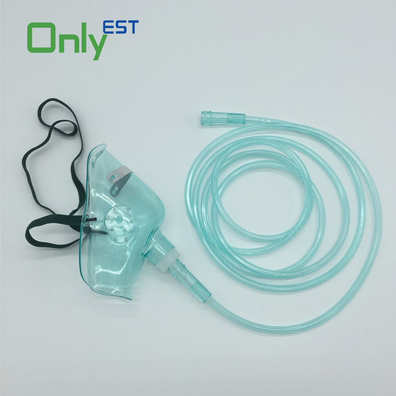 wholesale medical pediatric nebulizer accessory oxygen face mask with connector