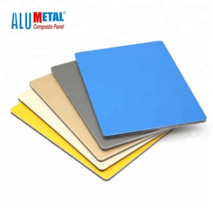 manufacture high quality acm board/4mm PVDF ACP/Aluminum bond