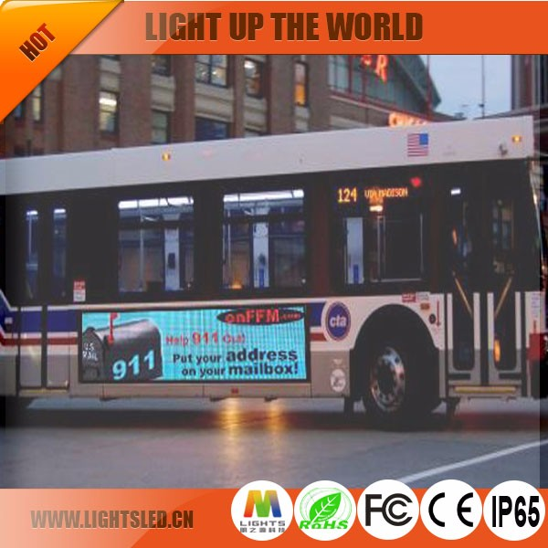 p5 Super brightness led bus display/running message text led display board/led moving message display From China Factory