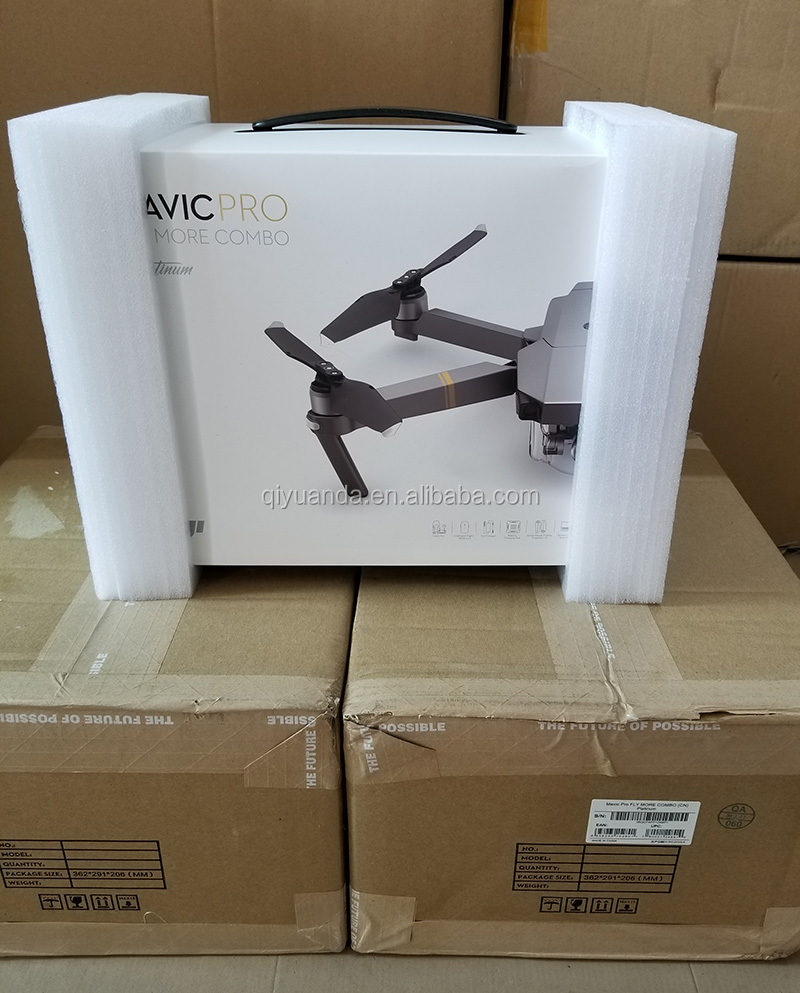 Offical Mavic Pro Platinum Fly More Combo  4K Professional Drone with 3 Intelligent Flight Batteries and  Shoulder Bag