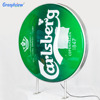 Shop wall hanging advertising signage beer outdoor sign Round 60cm