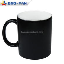 11oz Blank Sublimation Mug Color Changing Sublimation Ceramic Glassy Mug Sublimation Magic Cup