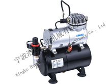 single cylinder piston compressor with air tank AS186