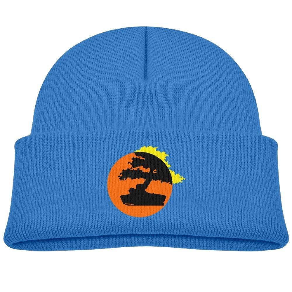 Beanie Bonsai Tree Japanese Rising Sun Knitted Hat Winter Skullcap Men Women
