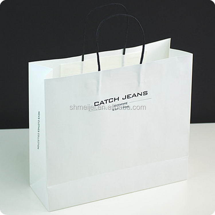 China Gold Supplier First Grade Promotional Cosmetic Paper Bag ...