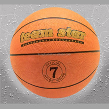 Wholesale official size custom rubber training balls basketball