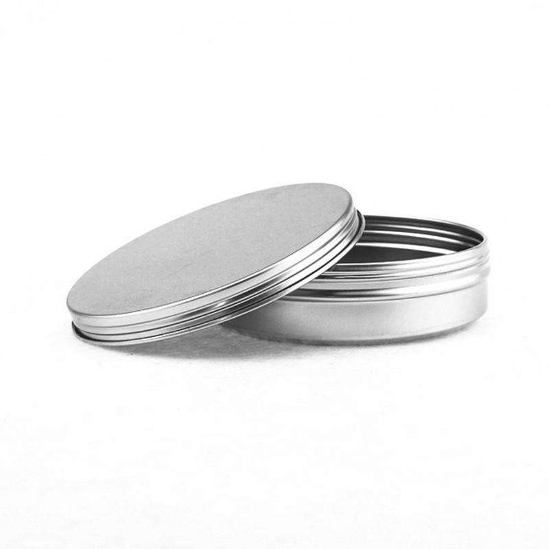 Aluminium Tins, Aluminium Pot, Aluminium Kan met Schroef deksel 150 ml 96*26