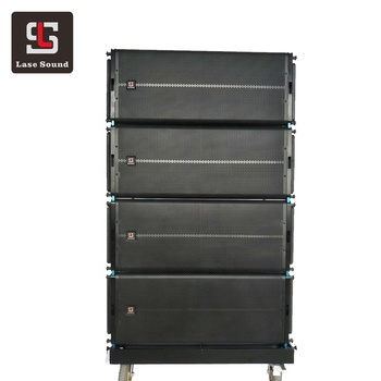 LA-series Dual 12 inch line array Active pro sound system concert outdoor