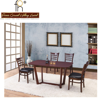 High Quality Restaurant Furniture Low Price Walnut Table For Food