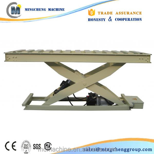 CE ISO approved first class lift 220v basement stationary scissor lift table