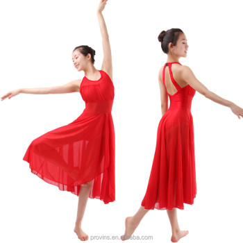 a0f9a15d590b Lyrical Dance Costume Dress