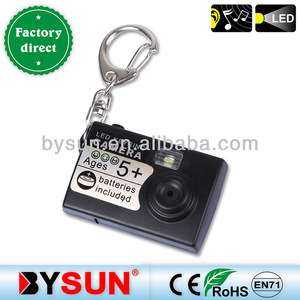 Led Mini camera keychain for gift/toy keyring/key buckle