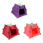 Dropshipping Strawberry shape soft tent bed nice sponge puppies cats caves