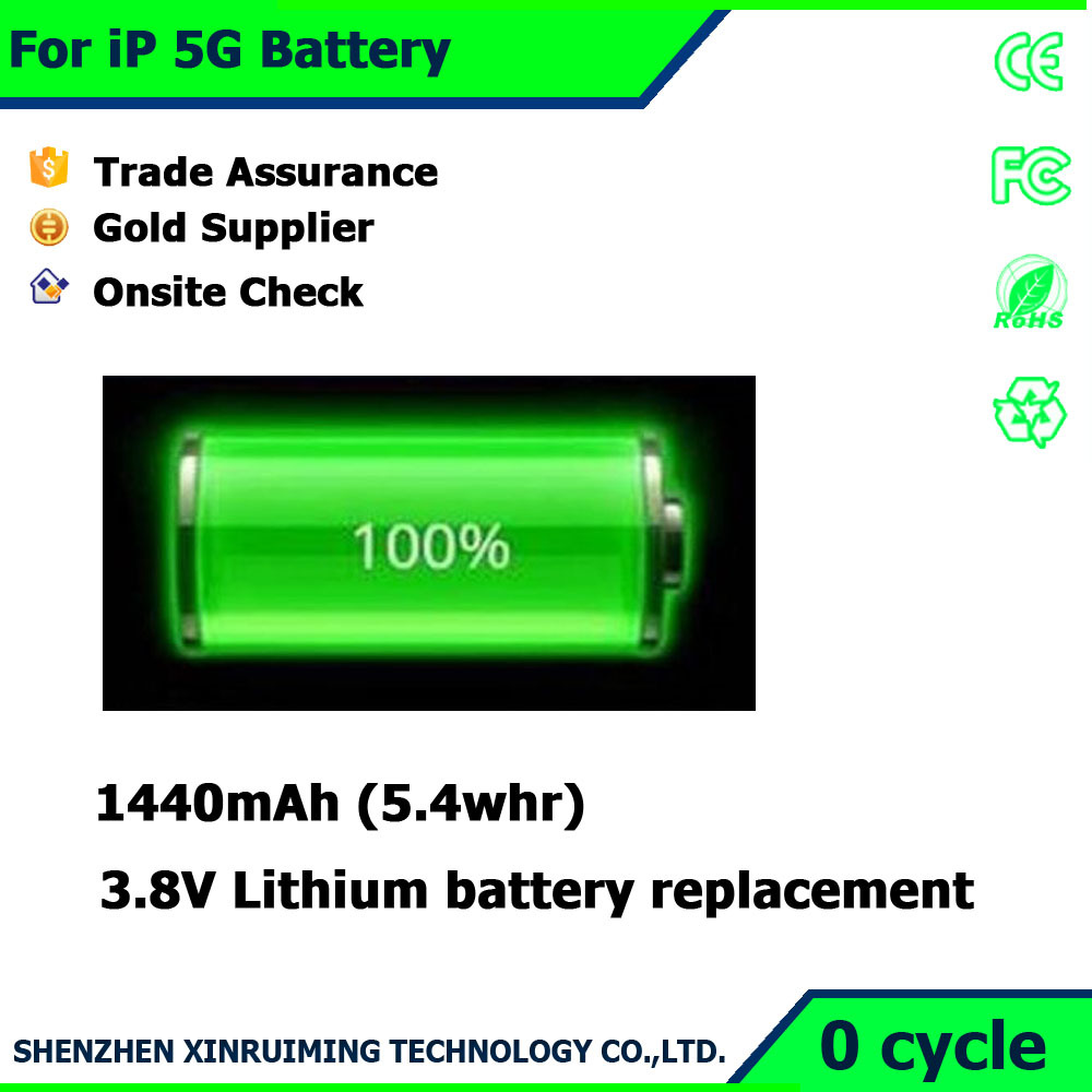 Factory Super quality Repalcement batteries for Iphone5G Orignal china mobile phone battery with price
