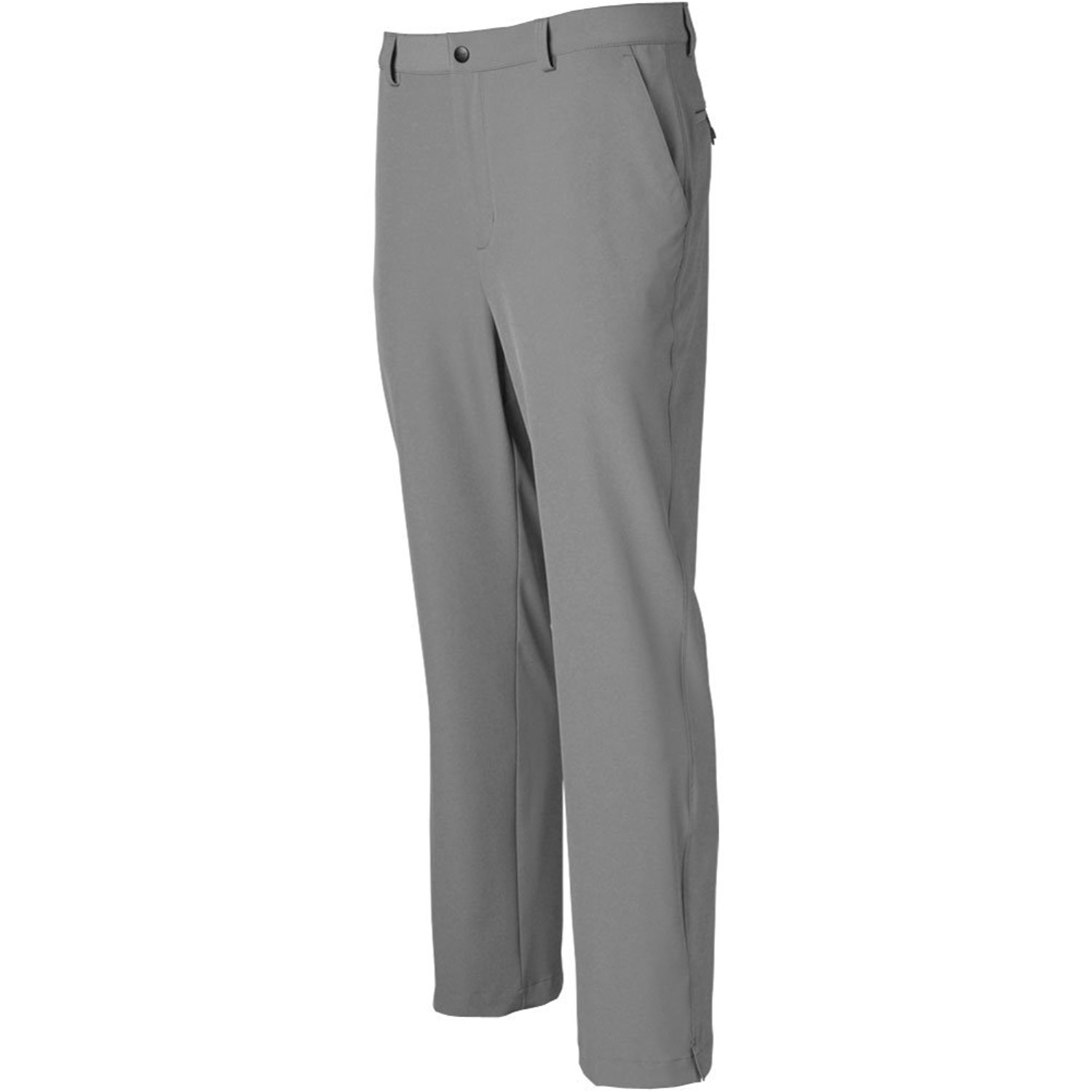 c1dbe4f6 Get Quotations · Greg Norman Mens Ml75 Micro Lux Flat Front Pants Grey 32 30