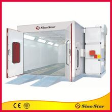 Commercial powering coating paint booth for sale
