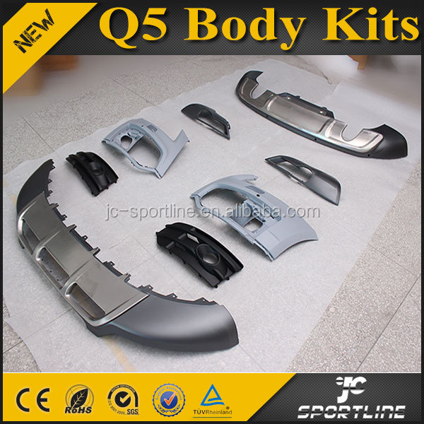 ABS Material Q5 Body Kits for AUDI Fit 10-12 Q5 Normal Bumper