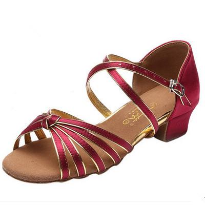 Low Heel Salsa Shoes