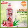 HS002-OEM available mango taste 500ml aloe fruit juice