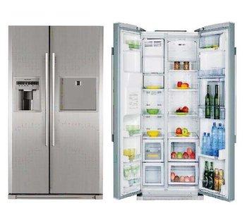 koelkast en vriezer naast elkaar