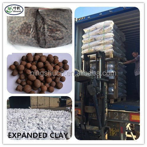 50 liter bags horticultural clay pebbles by pallet