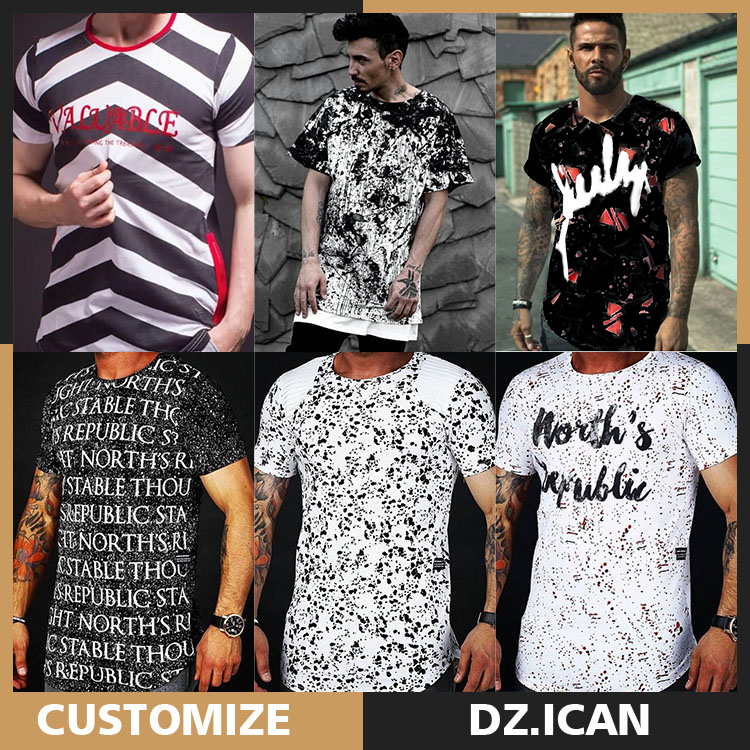 Chinese Custom Made New Design Fashion T Shirts For Men
