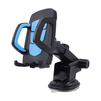 One Touch Release Desktop Phone Stand Long Arm Neck Holder Phone Car Mount Mobile