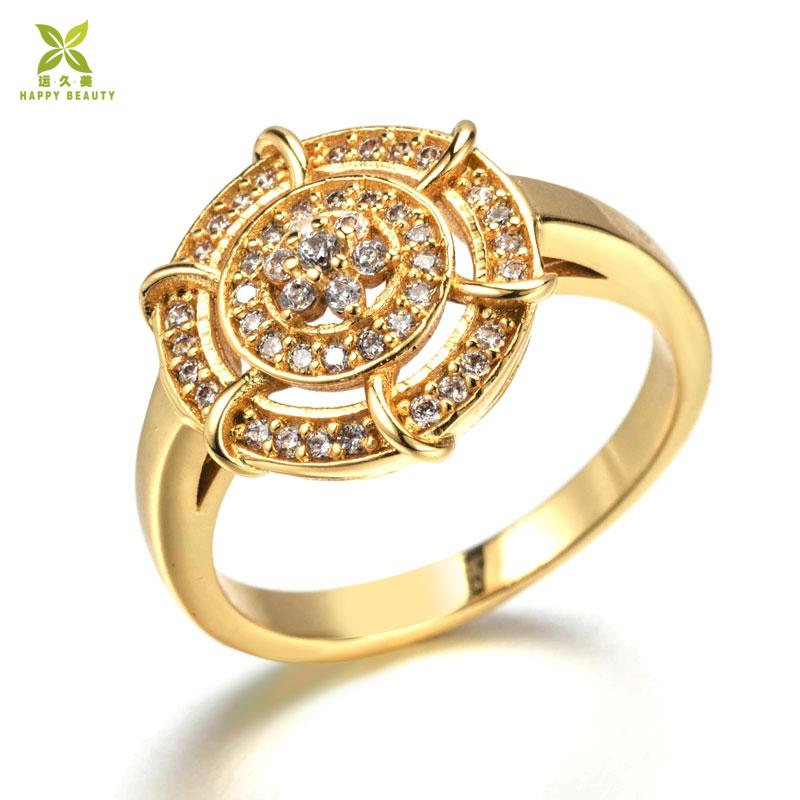 ff133ad27 Rings Jewelry Women Flower Shape Gold Ring Design In Dongguan - Buy ...