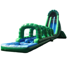 Commercial giant customized used 30 meters long adult size inflatable water slide