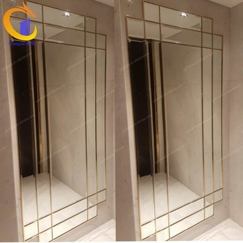 Hotel antiquemodern  metal custom decorative stainless steel door frame.