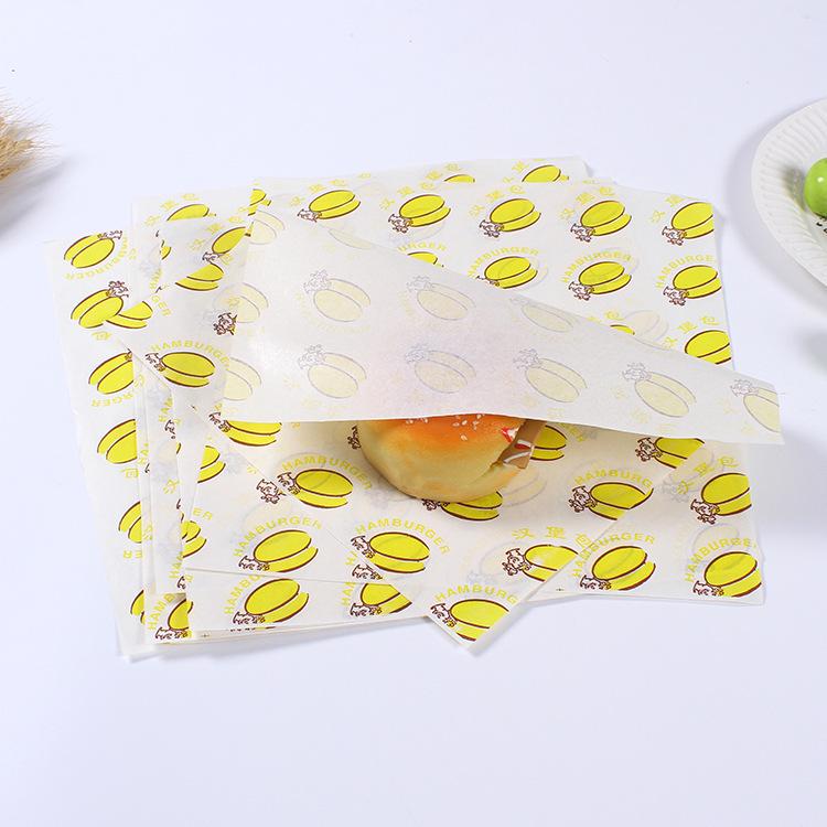 individuell bedrucktes Pergamentpapier für Delikatessen