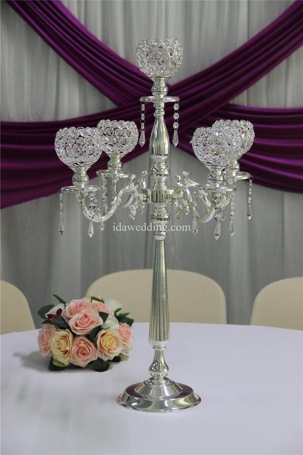 Reposteria top chandelier centros de mesa para bodas wedding ...