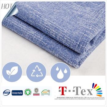 Bambus Licht Gewicht Vintage Garn Gefarbt Leinen Baumwolle Polyester