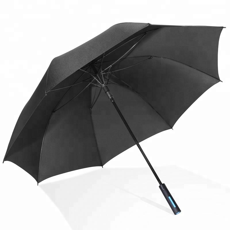 30 inch fiberglass strong windproof brand luxury golf umbrella
